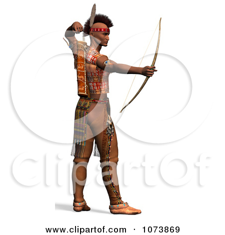 american indian man clipart #10