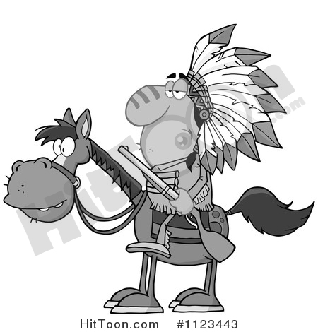 Native American Indian Man Clipart #1.
