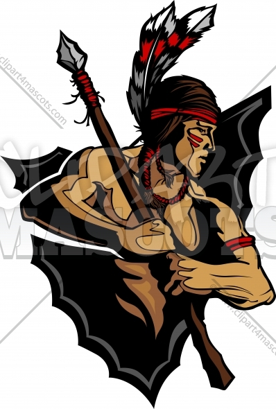 4160 Native American free clipart.