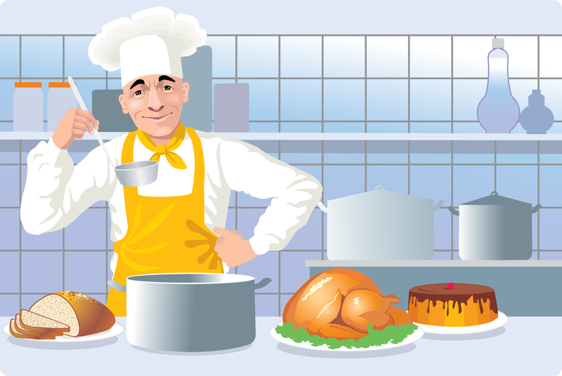European And American Kitchen Cooking Clip Art.