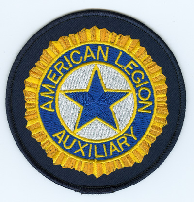 Embroidered Auxiliary Emblem.