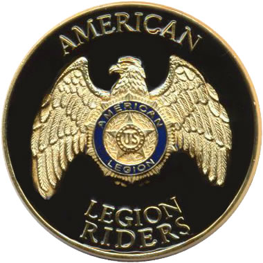 Legion Riders Collar Emblem.