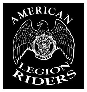 Details about AMERICAN LEGION RIDERS 20 X 22 VETERANS MOTORCYCLE  ASSOCIATION DECAL STICKER.