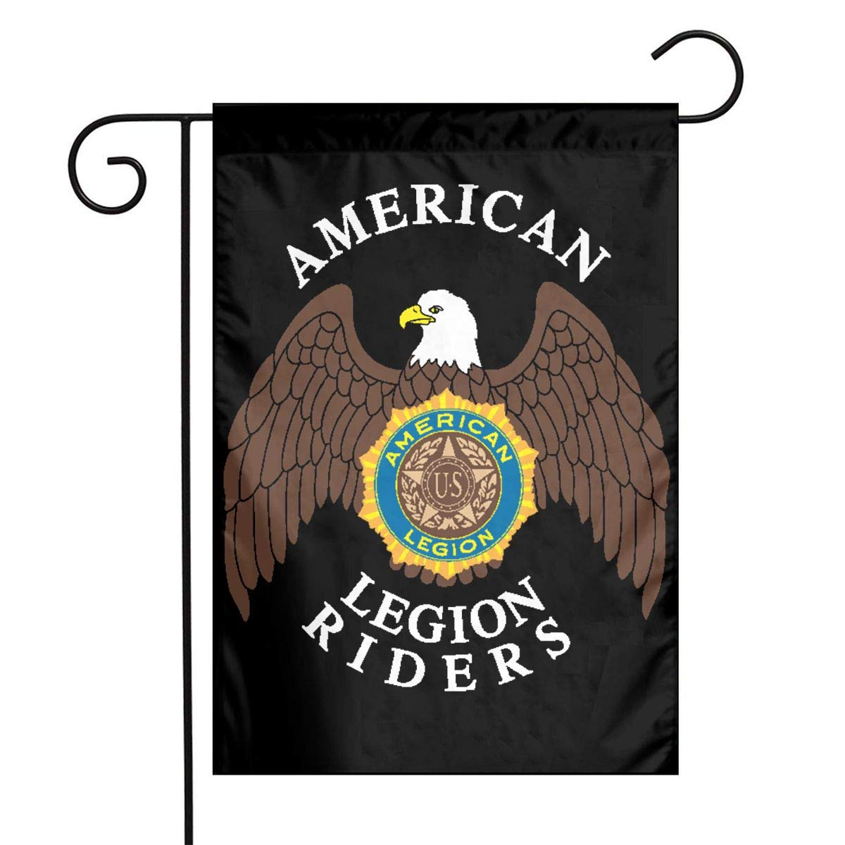 Amazon.com : HU7 JDOS7 American Legion Riders Garden Flag.