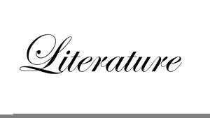 American Literature Clipart.
