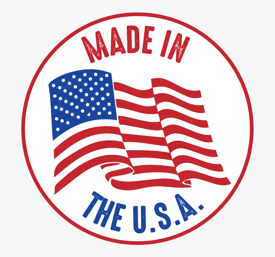 Made In The Usa Vector.