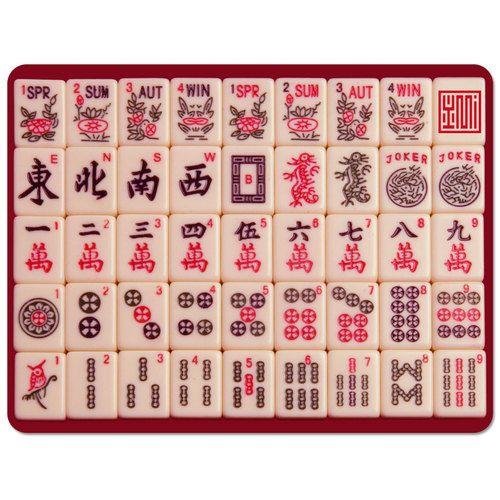 Mahjong mAh Jongg Mouse Pad.