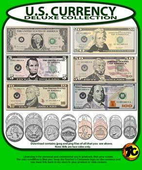 US Money Clip Art.