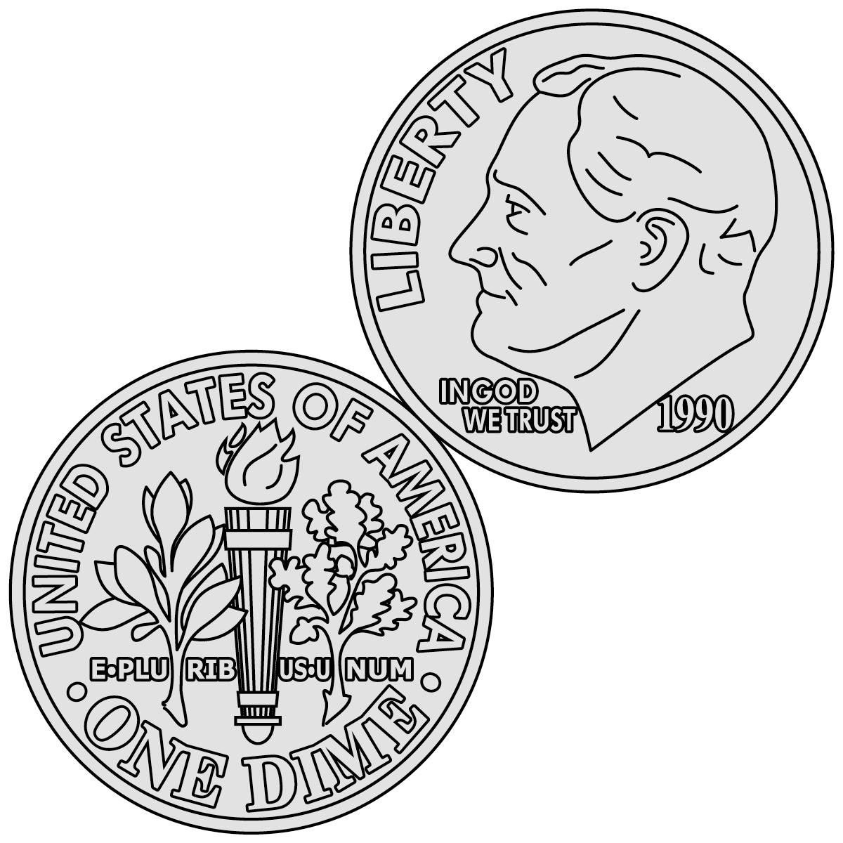 Free American Coins Cliparts, Download Free Clip Art, Free.