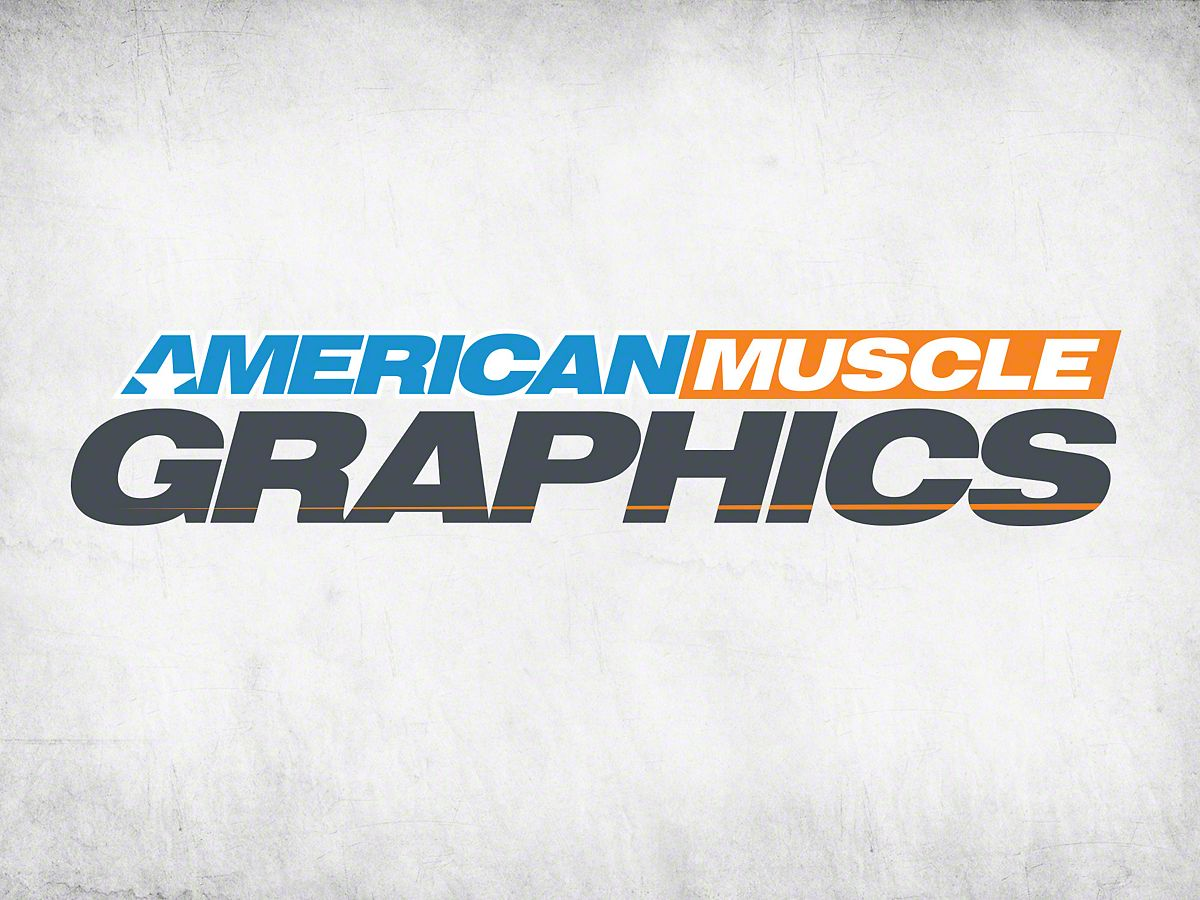 American Muscle Graphics AmericanMuscle Windshield Banner.
