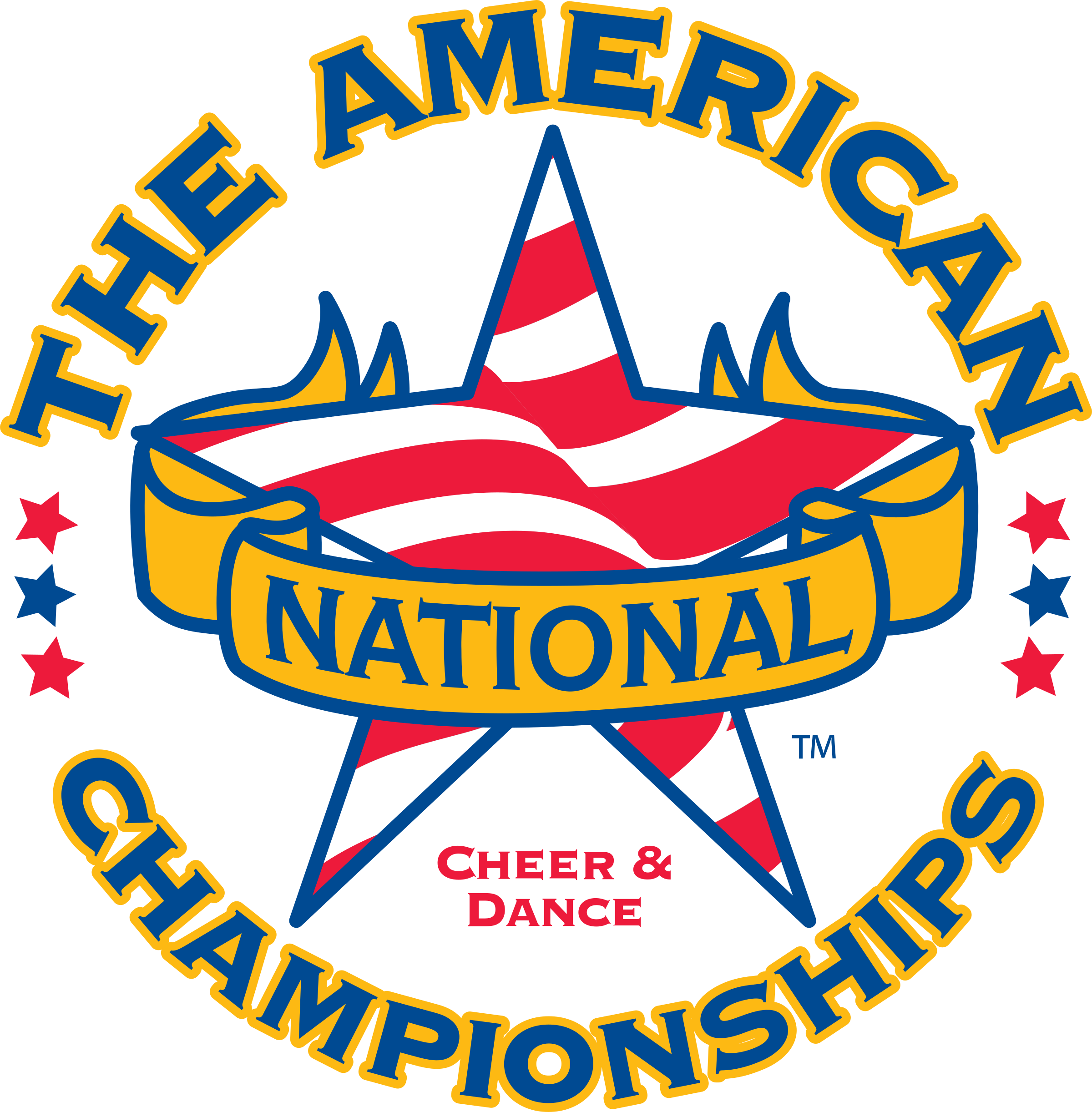 The American National Cheer & Dance Championships Logo PNG.