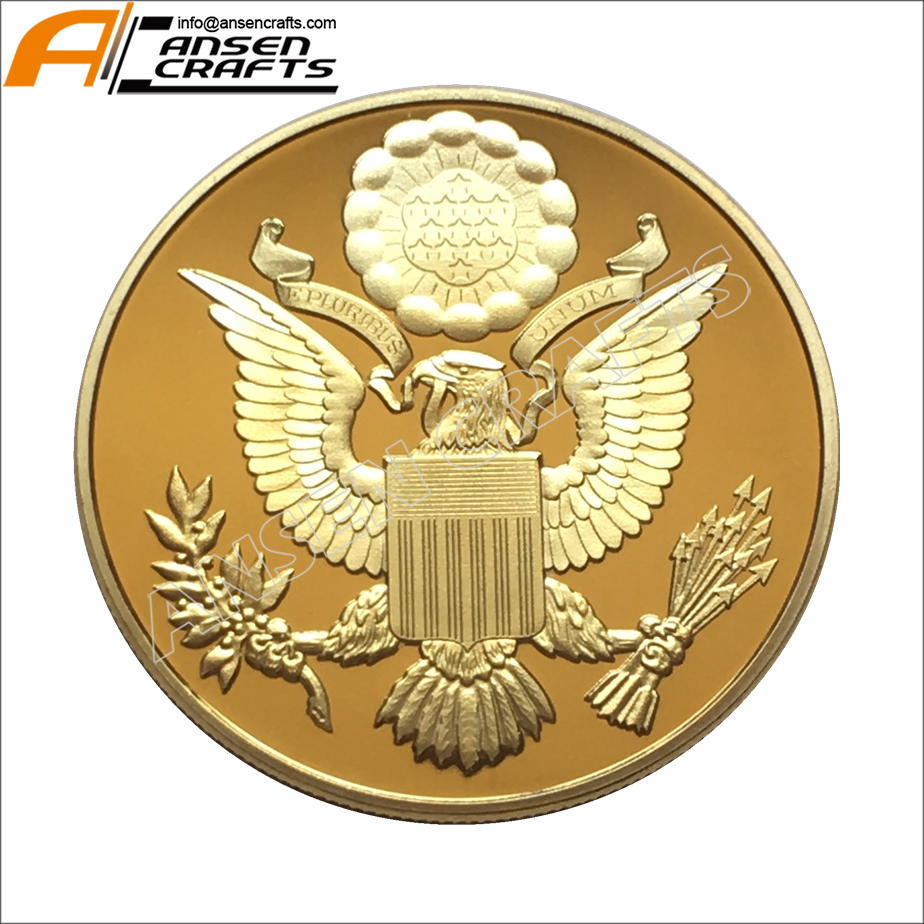 American National Emblem Annuit Coeptis Novus Ordo Seclorum Masonic Gold  Coin Collections.