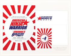 American Ninja Warrior Clipart.