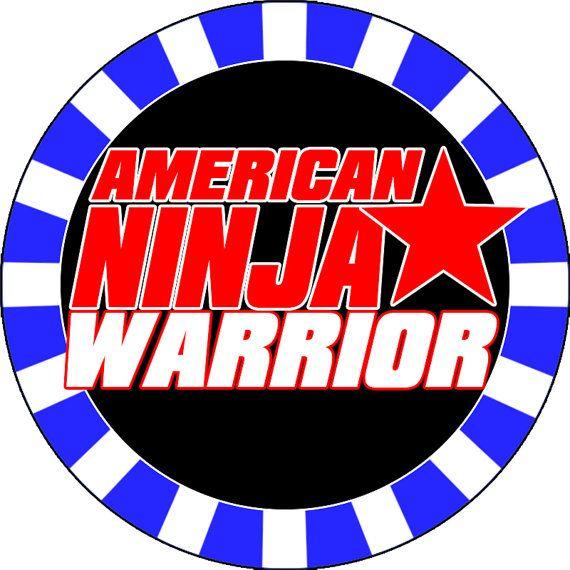 Download Free png American ninja warrior clipart logo.