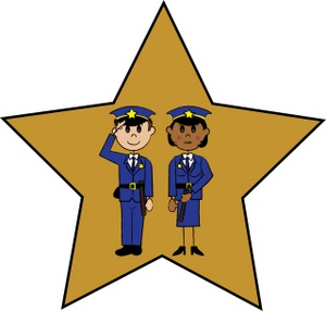 Free Police Officers Clipart Image 0515.
