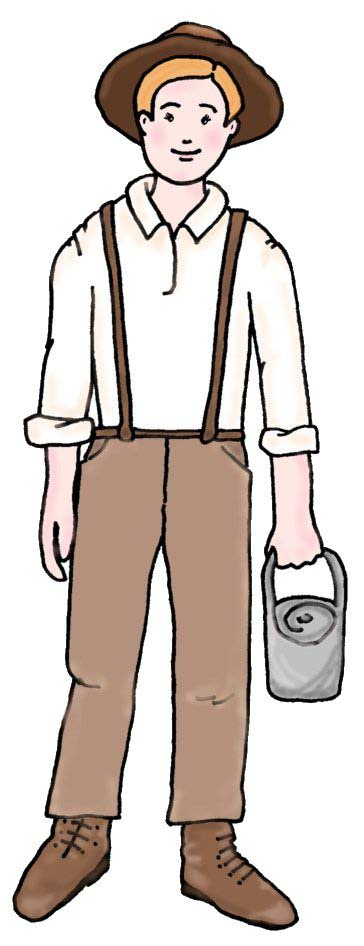 Pioneer clipart pioneer clothing, Pioneer pioneer clothing.