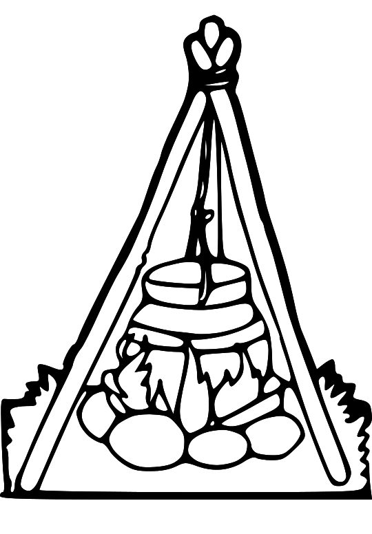 Pioneer people clipart.