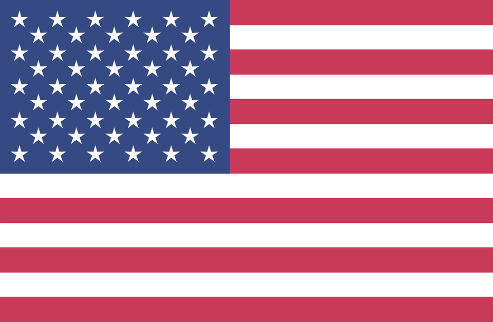 American Flag Background 4Th.