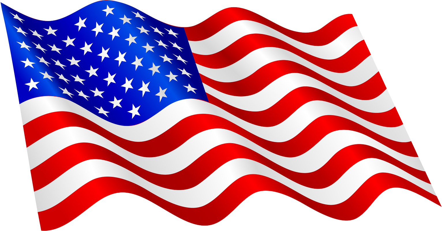 Download America Flag PNG Image for Free.