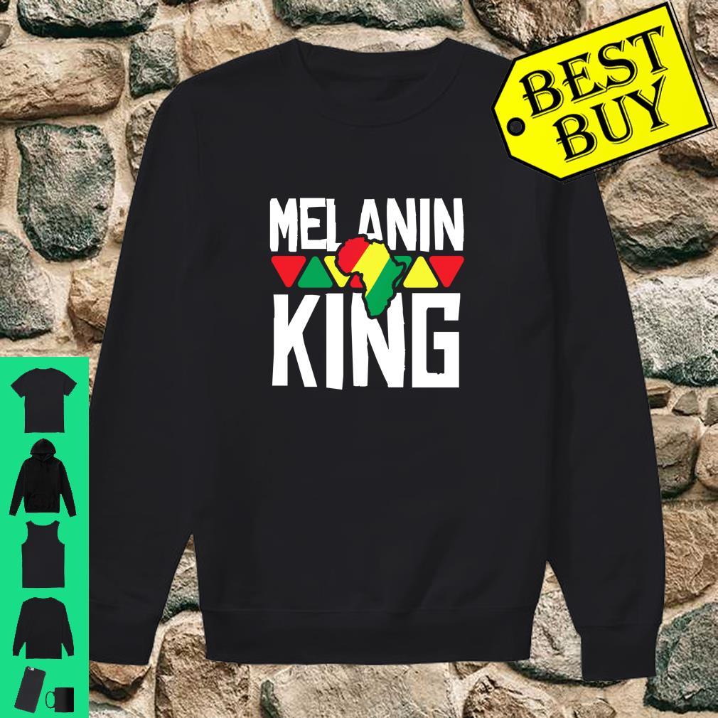 Melanin King African American Pride Black History Month Shirt.