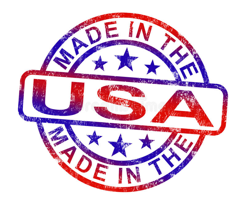 American Products Stock Illustrations.