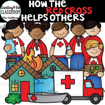 Donate to the Red Cross {Red Cross Clip Art}.