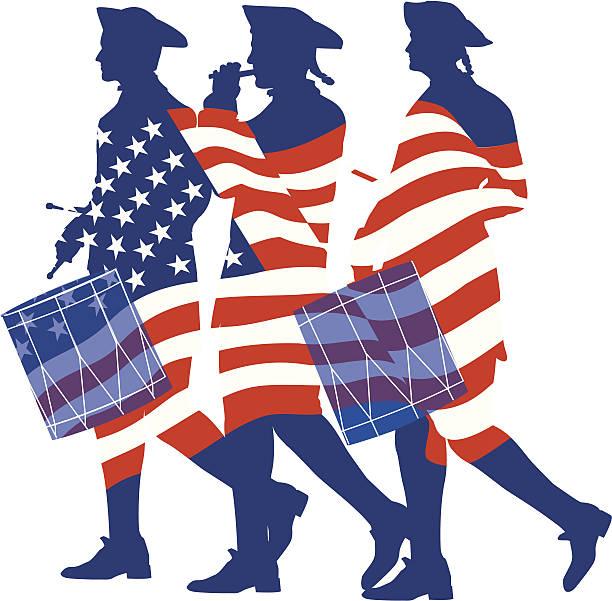 134 American Revolution free clipart.