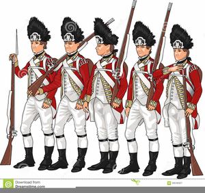 American Revolution War Clipart.