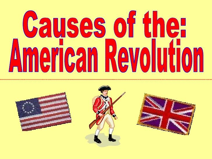 American Revolution.