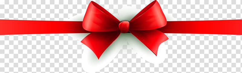 Christmas Banner Common holly Red, Red bow bow transparent.