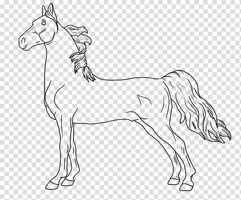 Coloring book American Saddlebred Breyer Animal Creations.