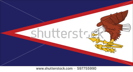 American Samoa Flag Stock Images, Royalty.