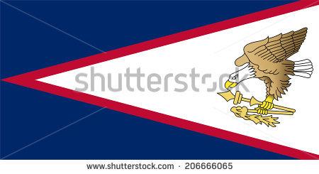Samoa Flag Stock Images, Royalty.