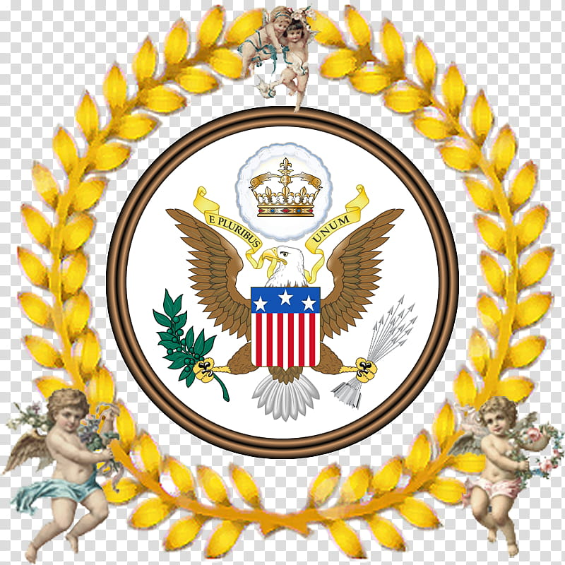 Coat Cartoon, United States Of America, Great Seal Of The.