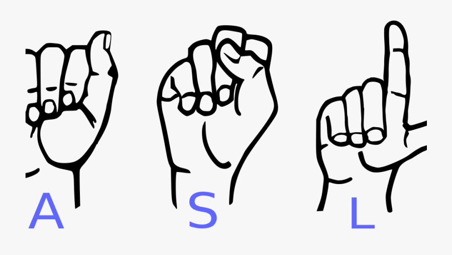 American Sign Language Letters Clipart , Png Download.