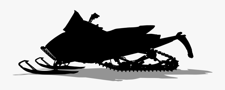 Mammal Product Sled Clip Art Silhouette.