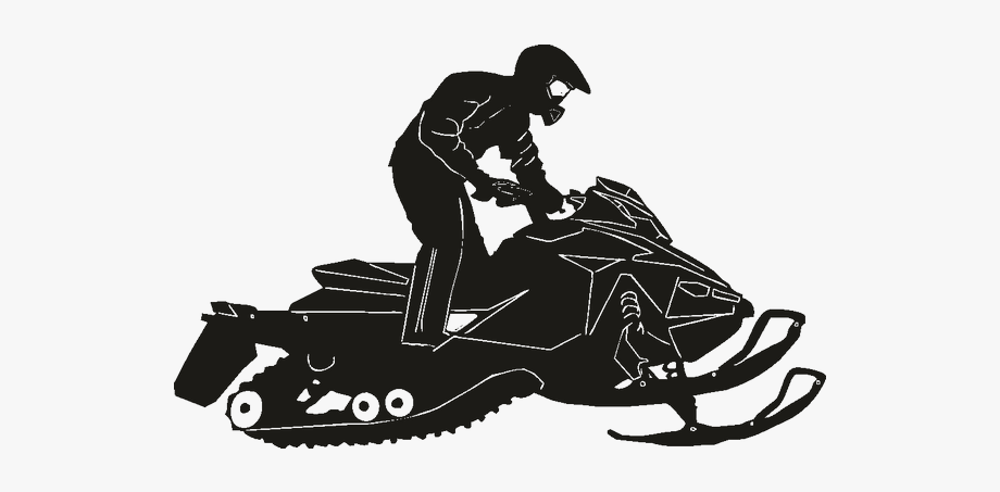 Snowmobile Silhouette Png , Transparent Cartoon, Free.