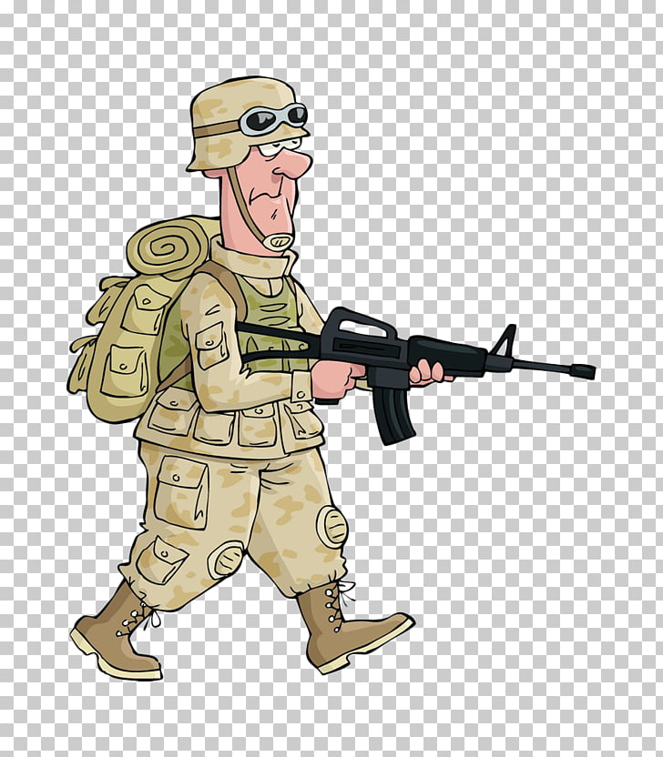 Soldier Cartoon Drawing , American soldiers PNG clipart.