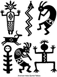 Native American Designs Clip Art.