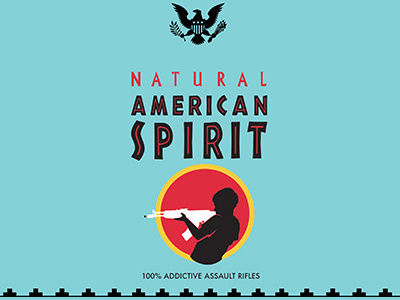 Natural American Spirit by Brit Sigh on Dribbble.