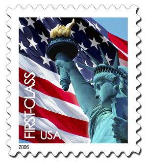 U.s. Postage Stamp Clipart.