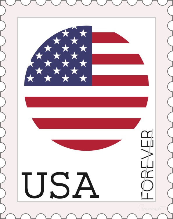 Made In The Usa Stamp Png.