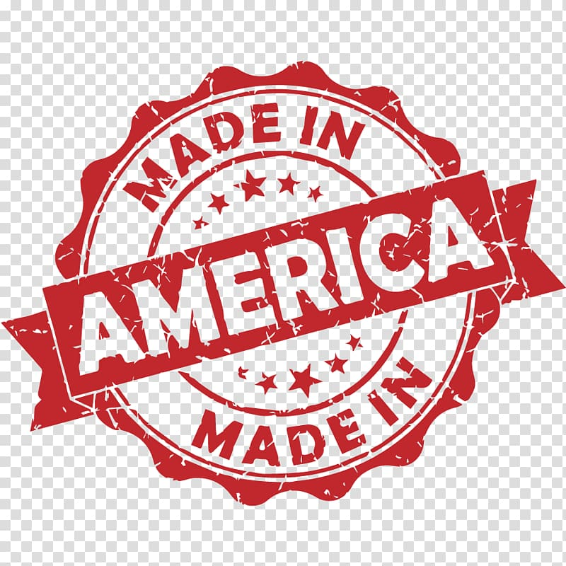 United States Rubber stamp, America transparent background.