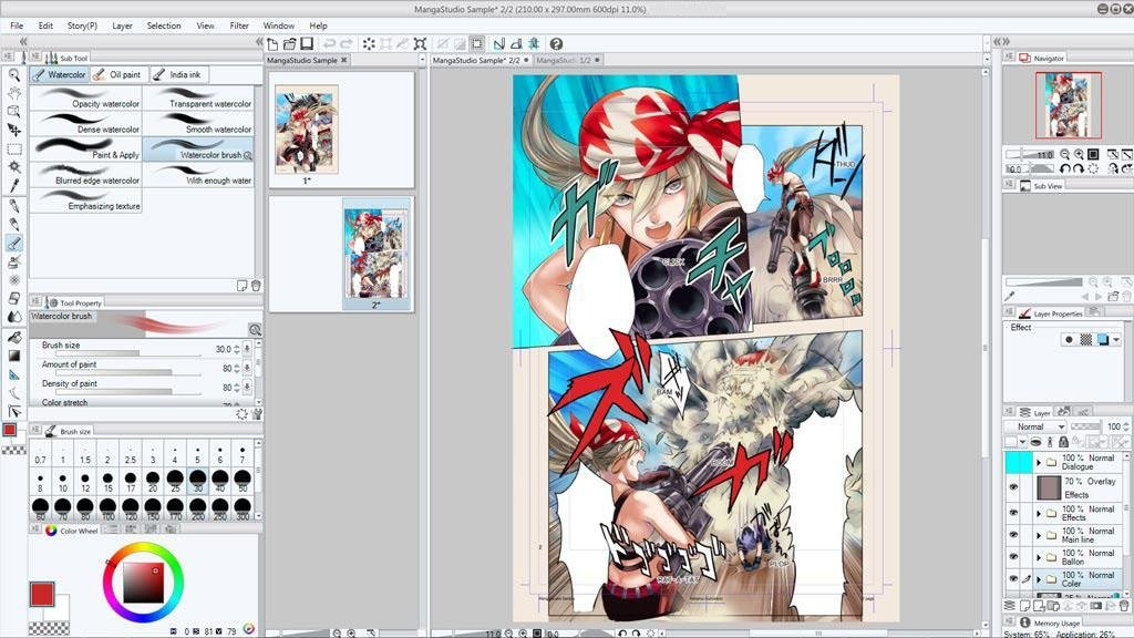 Smith Micro Software Inc. CLIP STUDIO PAINT EX.