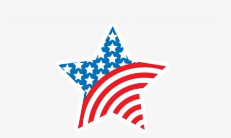 Blue Star Flag Clip Art.