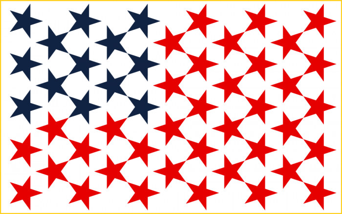 American Stars Png Vector, Clipart, PSD.