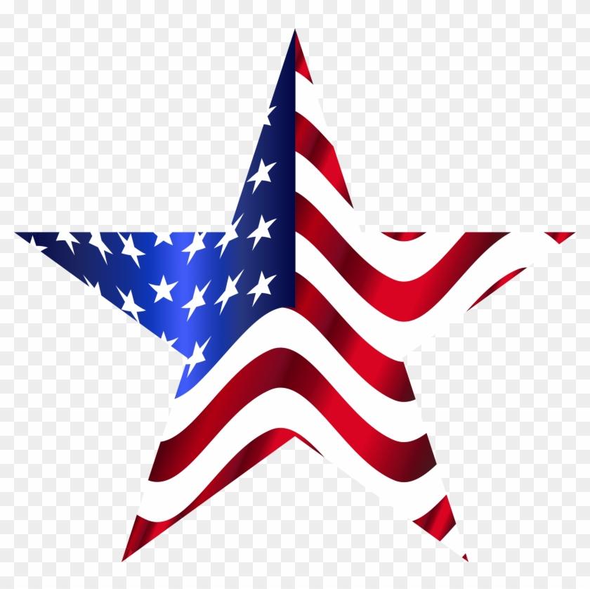 Star American Flag.