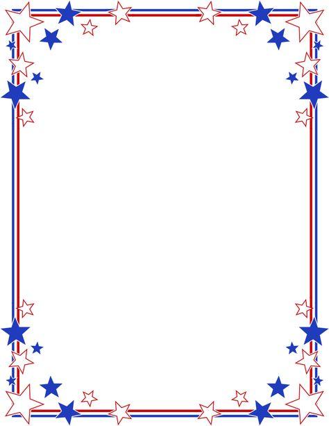 Stripes Page Border.