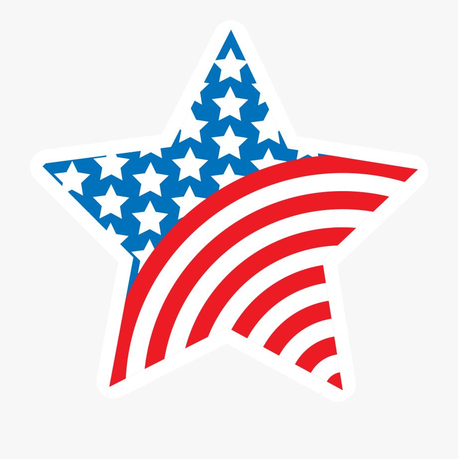 America Stars Cliparts.