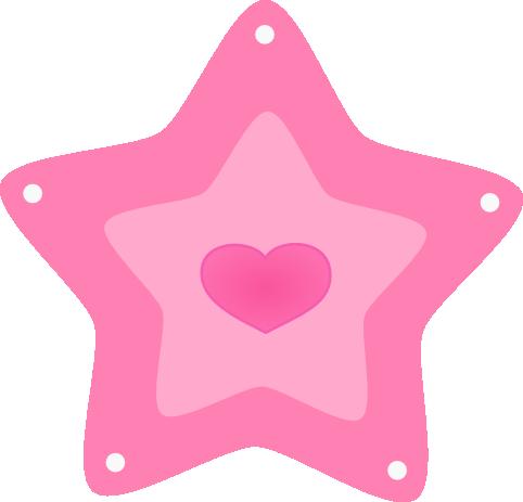 Cute Stars Clipart.